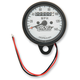 2240:60 Ratio White Faced Mini Mechanical Speedometers With Black Housing - 2210-0254