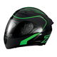 Black/Green Strike Ops Helmet