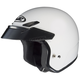 CS-5N White Open Face Helmet