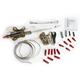 Amber/White TruWrapz® LED Turn Signals for 41mm Forks - TW41AWS