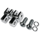 Chrome Footpeg Relocation Clevis Kit - LA-7202-00