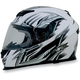 Pearl White Multi FX120 Helmet