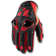 Red Hypersport Short Gloves