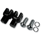 Black Footpeg Relocation Clevis Kit - LA-7202-00B