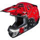 Red/Black/Gray CS-MX 2 Graffed MC-1 Helmet