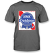 Gray Blue Ribbon T-Shirt