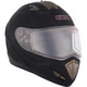 Matte Black Tranz RSV Modular Snow Helmet w/Electric Shield