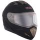 Matte Black Tranz RSV Modular Snow Helmet w/Electric Shield