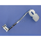 Chrome Girder Style Extended Brake Pedal for Footboard Equipped Models - 1071