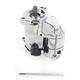 1.7 Kilowatt Chrome Starter Motor - 2110-0446
