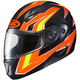 Neon Orange/Black/Yellow CL-Max 2 MC-6 Ridge Modular Helmet