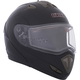 Black Tranz RSV Modular Snow Helmet w/Electric Shield