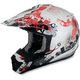 Youth Red Stunt FX-17 Helmet