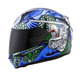 Red/Blue EXO-R410 Bushido Helmet