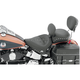 17 1/2 in. Wide Studded Solo Seat w/Removable Backrest - 79485