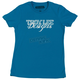 Womens Turquoise Hollywood T-Shirt