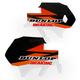 Orange/Black/White/Red Lower Fork Protectors - N10-153