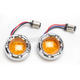LED Fire Ring Kit for Factory Deuce Style Turn Signal Housing - 12-757