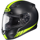 Black/Hi Viz Yellow CL-17 MC-3HF Streamline Helmet