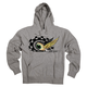 Youth Heather Grey Baja Eyeball Pullover Hoody
