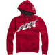 Red Super Faster Zip Hoody