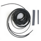 Black Flexi Wire and Hose Cover - BA-8200B
