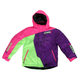 Youth Fuchsia/Purple/Lime Vertical Jacket