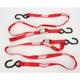 Red 1 in. Heavy-Duty Tie-Downs - 3920-0295