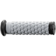 ATV/SNOW Black/Gray Pillow Top Grips - 02-4859