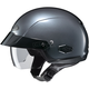Anthracite IS-Cruiser Half Helmet