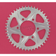Silver Aluminum Rear Sprocket - 452A-45