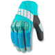 Womens Blue Overlord Mesh Gloves