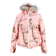 Womens AP Pink Puff Jacket