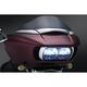 Chrome Tri-Line Headlight Vent Accents - 6925