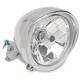Diamond-Style 5 3/4 in. Headlight with Visor - 2001-0095