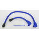 Blue 409 Pro Race Wires w/90 Degree Boot - 49631