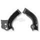 Silver/Black X-Grip Frame Guards - 2374261015