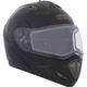 Black Trans-E Modular Snow Helmet