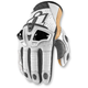 White Hypersport Short Gloves