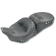Regal One-Piece Ultra Touring Seat w/Chrome Studs - 76037