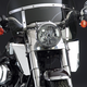 12 1/4 in. Chrome Switchblade Windshield Lowers - N76606