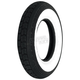 Front or Rear LB 3.50-8 Wide White Sidewall Scooter Tire - TWW8