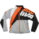 Gray/Black/Orange Softshell Jacket