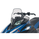 20 in. Medium Clear/Black Windshield - 15631