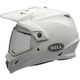 White MX-9 Adventure Helmet