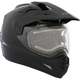 Black Quest Snow Helmet w/Electric Shield