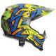 Blue/Orange AX-8 Evo Spray Helmet