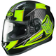 Hi-Viz Yellow/Black CL-17 MC-3H Striker Helmet