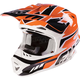 Orange Blade Race Snell Helmet