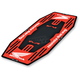 Honda Red M10 Factory Mat - HM10-102